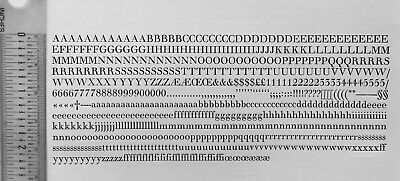 New Letterpress Type- 14 Point Walbaum