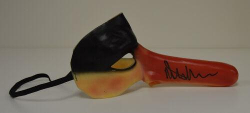 MALCOLM McDOWELL signed A Clockwork Orange Alex Droog MASK auto UK Adult version