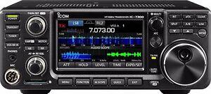 Icom IC-7300 SDR HF 50/70 MHz Transceiver Amateurfunk