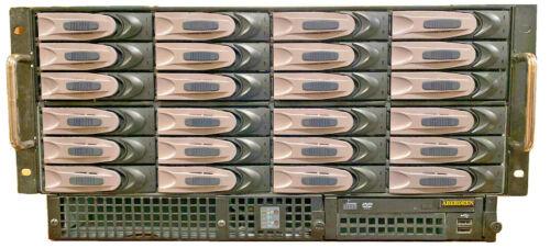 """ABERDEEN STIRLING X526 """"TERASTORUS"""" NAS + 24Tb storage"""