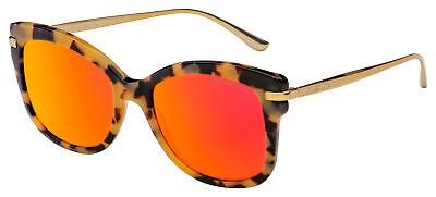Michael Kors Lia Sunglasses MK 2047 32446Q 53 Havana/Gold | Orange Mirror Lens Orange Havana Sunglasses