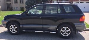2002 HYUNDAI SANTA FE FOR SALE