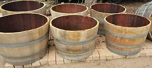 Wine Barrels For Sale.  Halves and Whole, various sizes available Harcourt Mount Alexander Area Preview