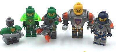 LEGO LOT OF 5 NEXO KNIGHT MINIFIGURES CASTLE AXL FIGS
