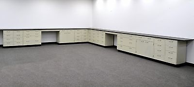 Laboratory Cabinets 38 Base 34 Wall W Counter Tops Cv-open-2