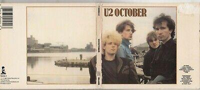 U2 - October CD 1981 ISLAND EARLY JAPAN PRESS DIGIPAK 790092-2  ()