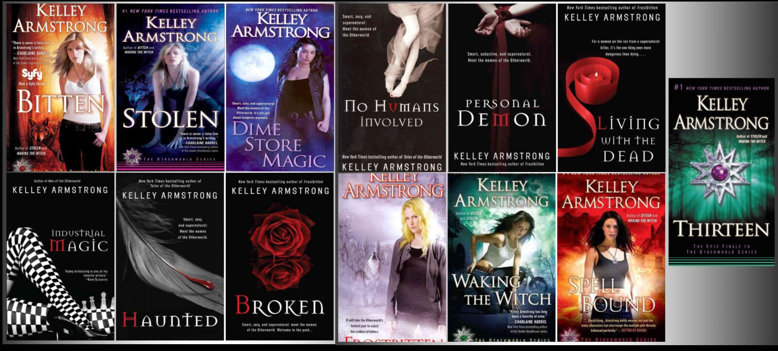 """Image for """"Kelley Armstrong Otherworld MMP 1-13 by Armstrong, Kelley"""""""