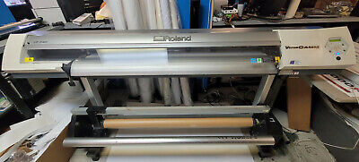 Roland Vp-540i Wide Format Print And Cut 54 Eco Solvent Printer Take Up Reel
