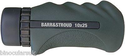 Barr & Stroud Sprite Mini 10x25 Waterproof Bak-4 Monocular inc 10 Year Warranty