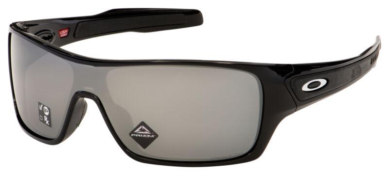 Oakley Turbine Rotor Sunglasses OO9307-1532 Black   Prizm Black Polarized