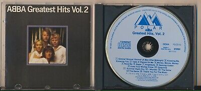 Abba - Greatest Hits Vol. 2, Blue Face Polar, West Germany, Very Rare CD!