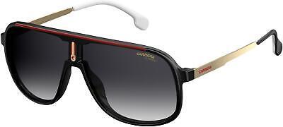 NEW Carrera CA 1007 Sunglasses 0807 Black 100% AUTHENTIC