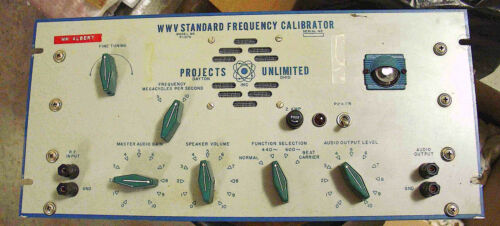 US Air Force Model P1376 WWV Receiver w/calibration inputs - Working, Very Nice