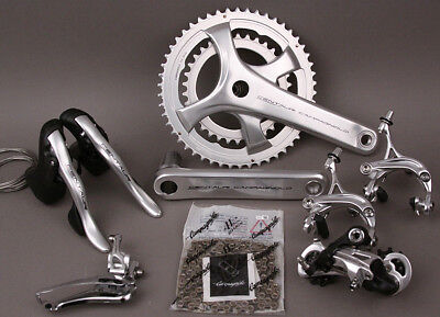2018 Campagnolo Centaur 11 Speed 6 PC Group Groupset 172.5 Crankset Silver