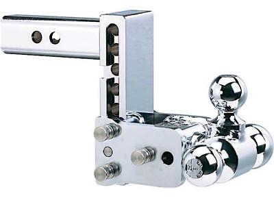 B&W Model 6 Tow & Stow Chrome Receiver Hitch 2