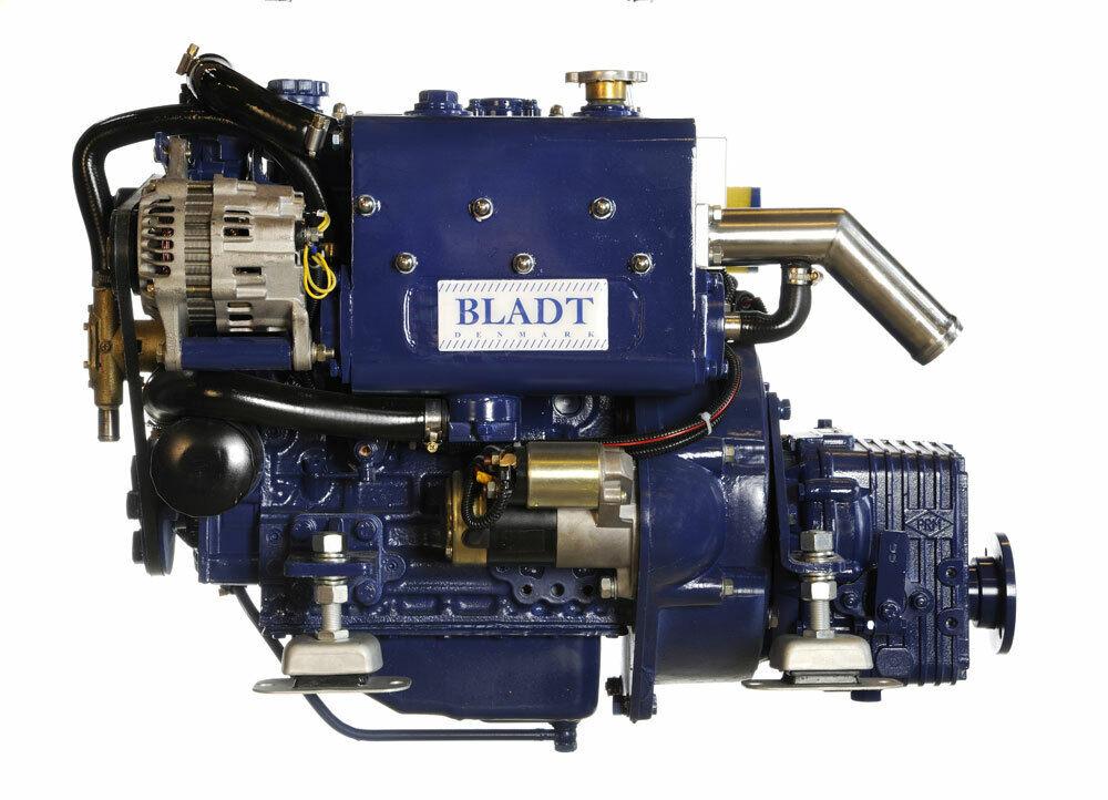 Bladt Diesel 21 PS Innenbordmotor (Segelboot / Motorboot Gleiter / Verdränger)