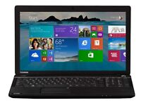 toshiba laptop with windows 10 4 gb ram 500 harddrive 15.6 led widescreen display