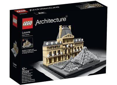 LEGO Architecture The Louvre 21024 BRAND NEW in 'MARKED' Box FREE Signed Postage