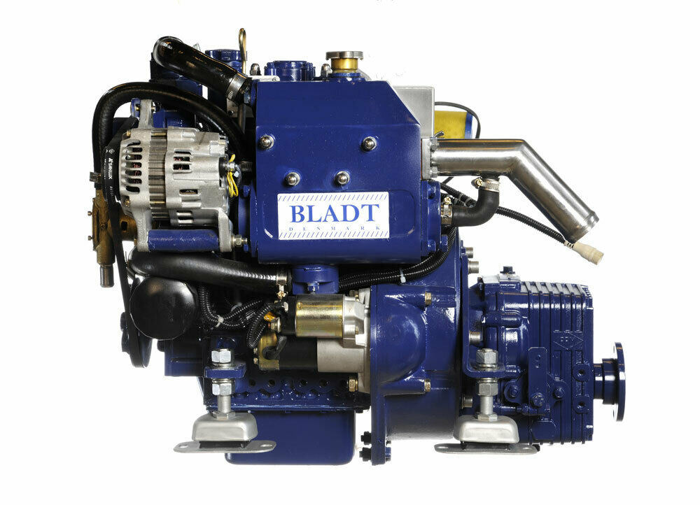 Bladt Diesel 14 PS Innenbordmotor (Segelboot / Motorboot Gleiter / Verdränger)