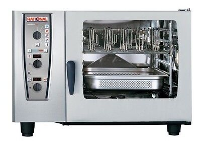Rational Model 62 A629206.19e202 Gas Combi Oven With Six Full Size Sheet Pan Ca
