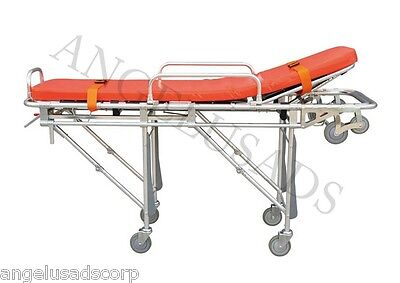 Emergency Medical Stretcher Ambulance Automatic Loading Folding 191-mayday