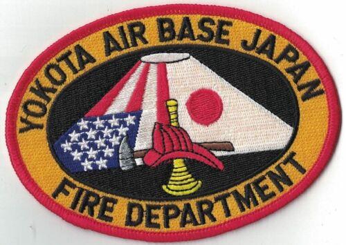 Yokota Air Base Japan Fire Dept.Firefighter Patch