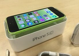 Boxed Green Apple iPhone 5C 16GB Factory Unlocked Mobile Phone + Warranty