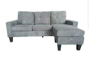$$$BLOW OUT SALE-brand new CONDO SECTIONAL Sofa (REVERSIBLE)