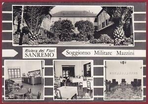 IMPERIA SANREMO 99 SOGGIORNO MILITARE MAZZINI Cartolina ...