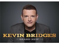 Kevin Bridges 21st October SSE hydro £50 a ticket