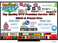 IPTV NO MIDDLE MAN ZGEMMA/FIRESTICK/MAGBOX/OPENBOX/ANDROID/SMART TV/ UK PROVIDER TRY THE BEST