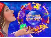 European Astrology Psychic Past Present Future Palmistry Tarot card life coach Healer Happiness