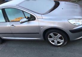 Peugeot 307 1.6 16v GLX 5dr (a/c) | 2003