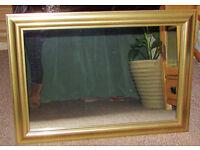Mirror, Gold Frame
