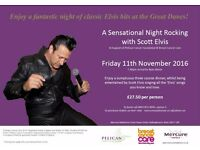 Rock The Night Away! - Elvis Tribute at Mercure Maidstone Great Danes Hotel