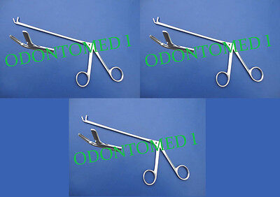 3 Cushing Pituitary Rongeurs 5 3mm Up Ent Surgical Instruments