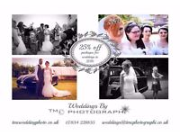 25% off Wedding Photography in 2016!