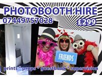 3Hr Photobooth Hire - Midlands & Home Counties Short Notice Welcome