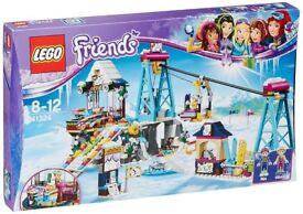 LEGO SNOW RESORT SKI LIFT BRAND NEW IN THE BOX