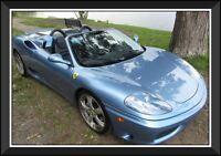 2003 Ferrari 360 MODENA *CONVERTIBLE || REDUIT $5000