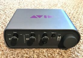 Avid Digidesign Mbox 3 Pro Usb Audio Midi Interface For Pc And