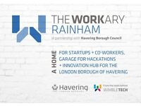 Finest coworking @TheWorkary Rainham - hot desks and fixed desks available - last few places left!