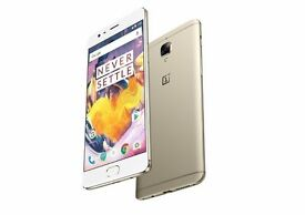 Brand new sealed oneplus 3t soft gold colour 64gb.
