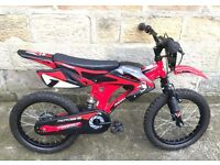 this bike was stolen from Royton area off a 6 year old boy