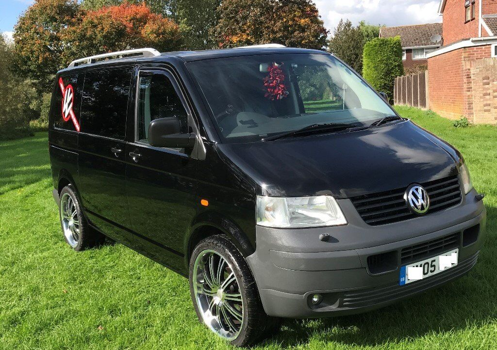 volkswagen vw transporter t5 campervan mini bus combi van full service history 2005 in. Black Bedroom Furniture Sets. Home Design Ideas