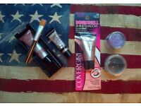 5 pc eye shadow set incl. Lancôme, Covergirl, L'Oreal, Models Own & Bellapierre