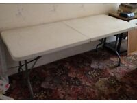 Extra large pasting table - Good Condition - Folds away