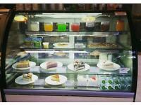 Bastia Metro Cake Display Fridge Commercial Shop Cafe