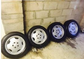 Wheels. Mercedes AMG 15 inch Monoblocks