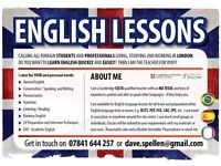 I can help you improve your English - bilingual Cambridge Qualified Teacher - private lessons